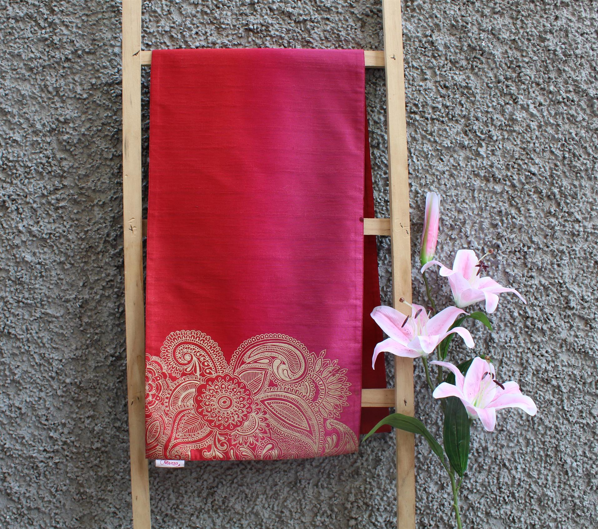 Pink Red Ombre Runner