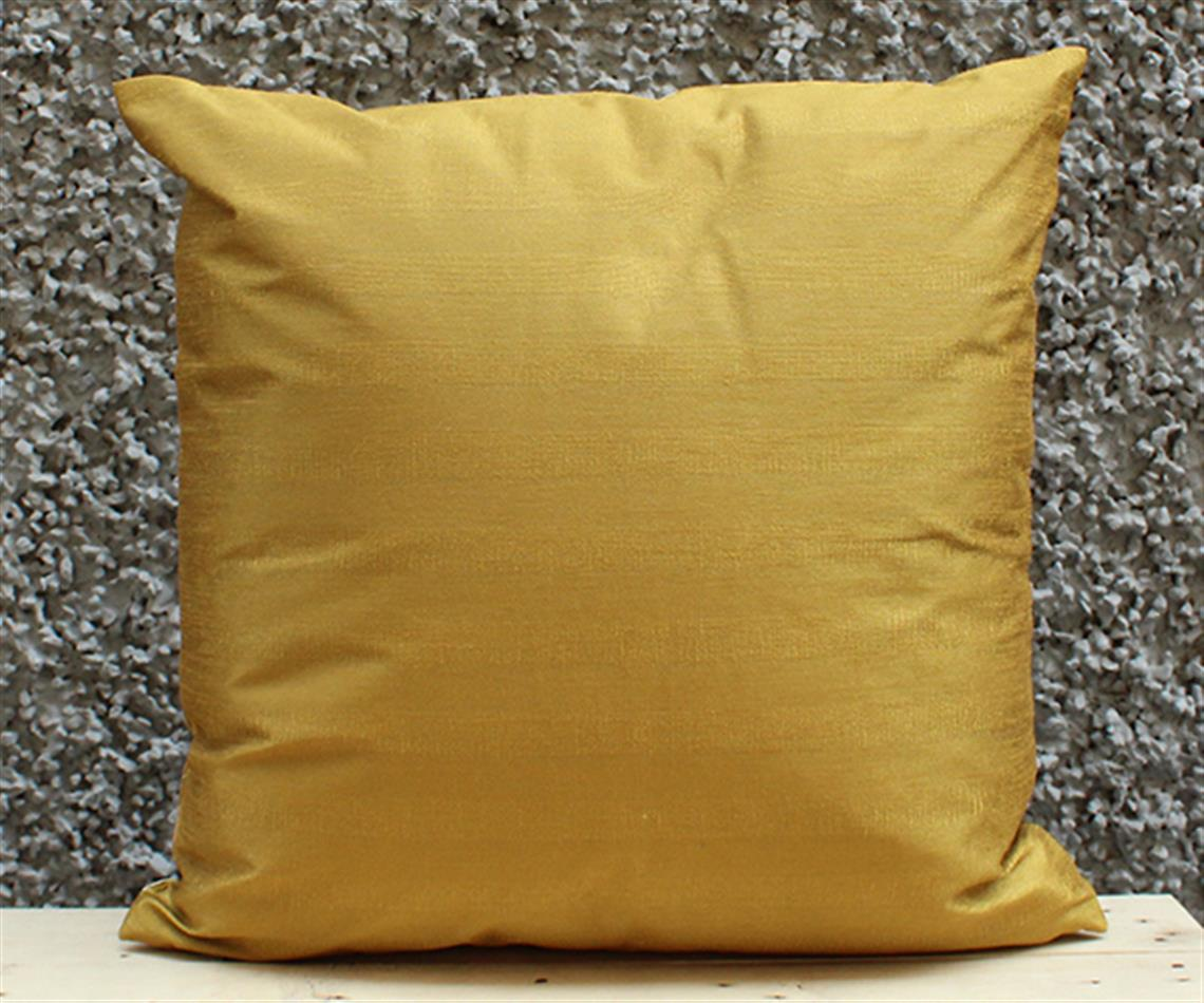 Olive And Gold Cushion Cover
