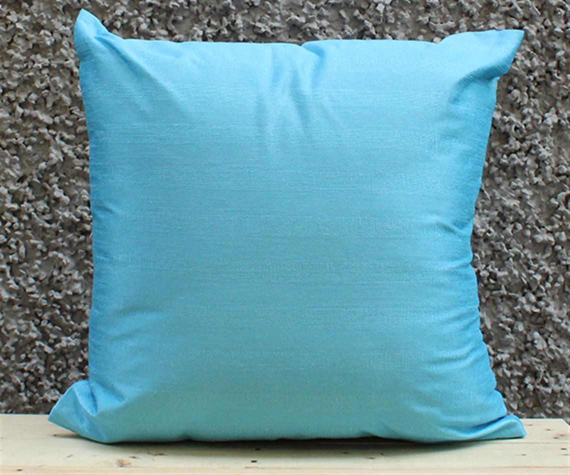 Blue and Sea Solid Cushion Cover