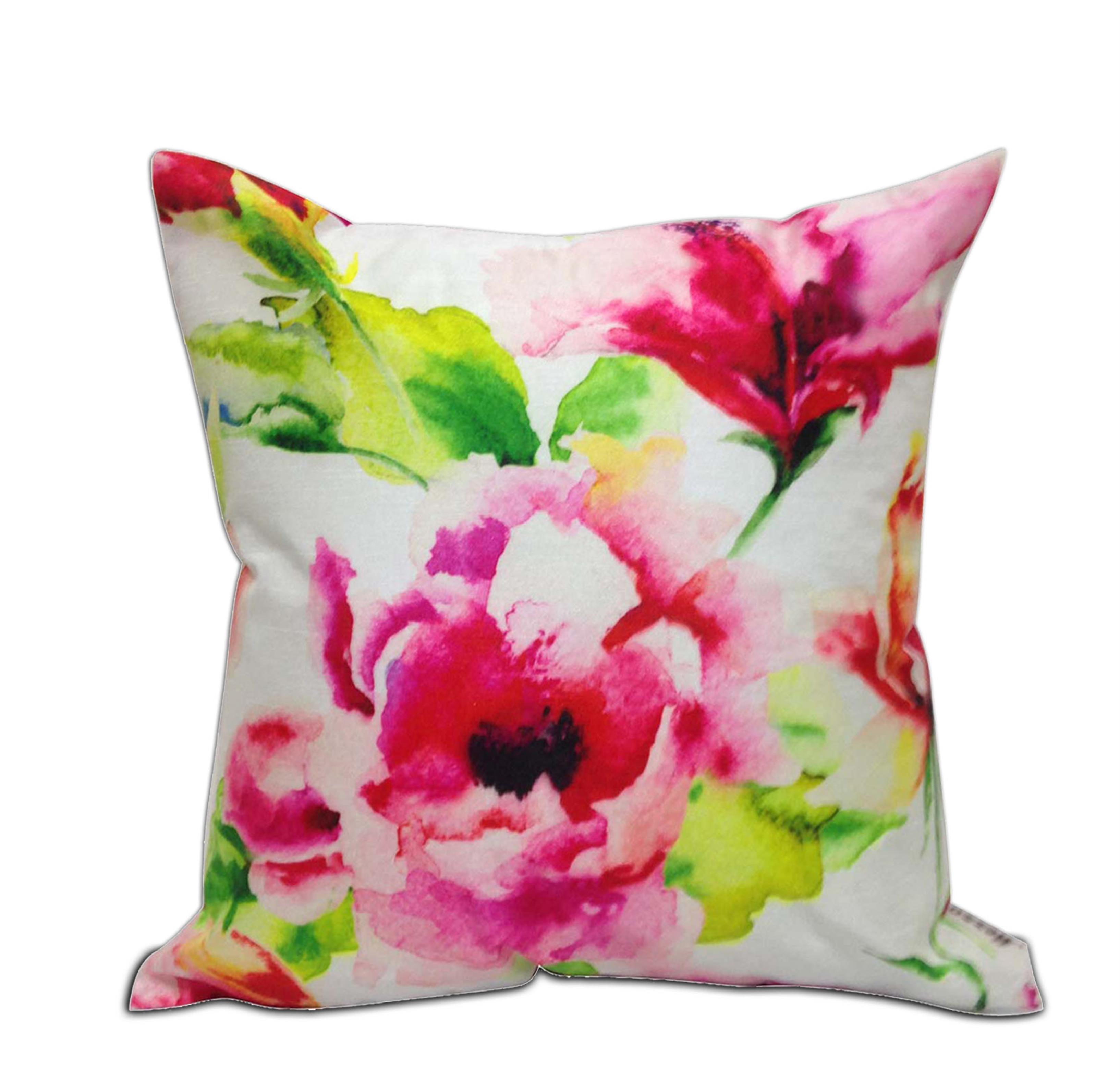 Peony Floral Cushion