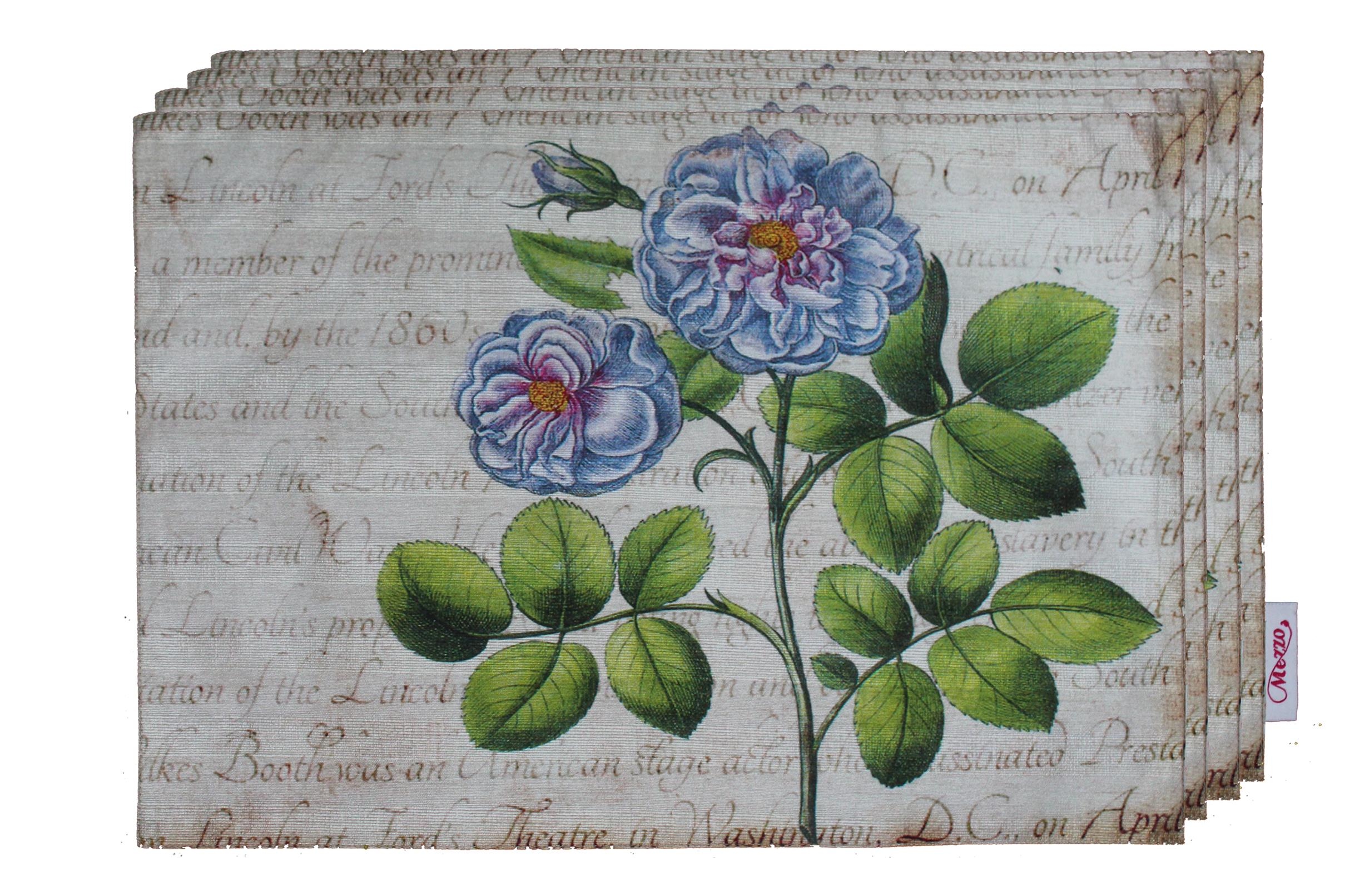 Blue Rose Placemat