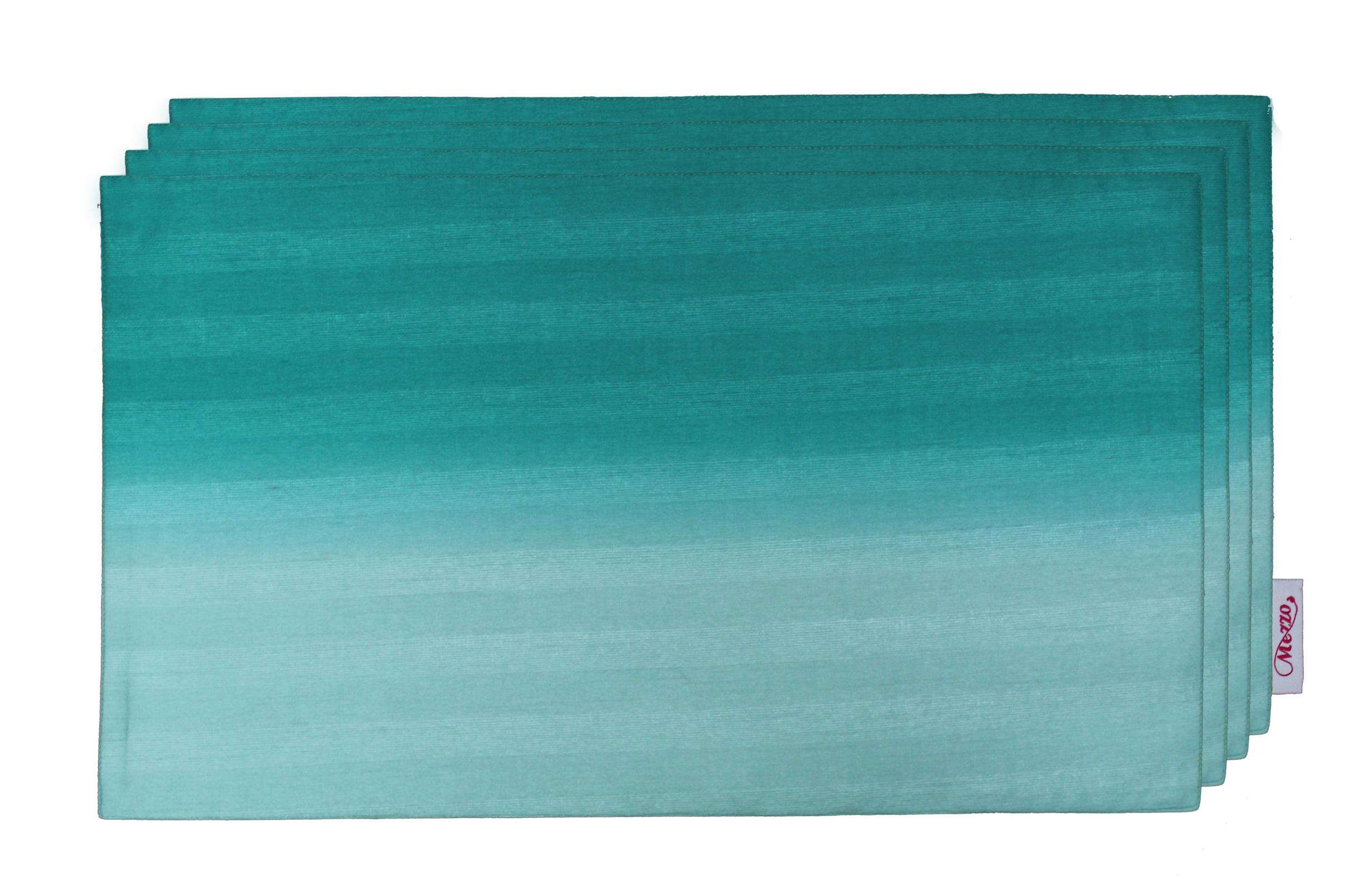 Teal Blue Ombre Placemat