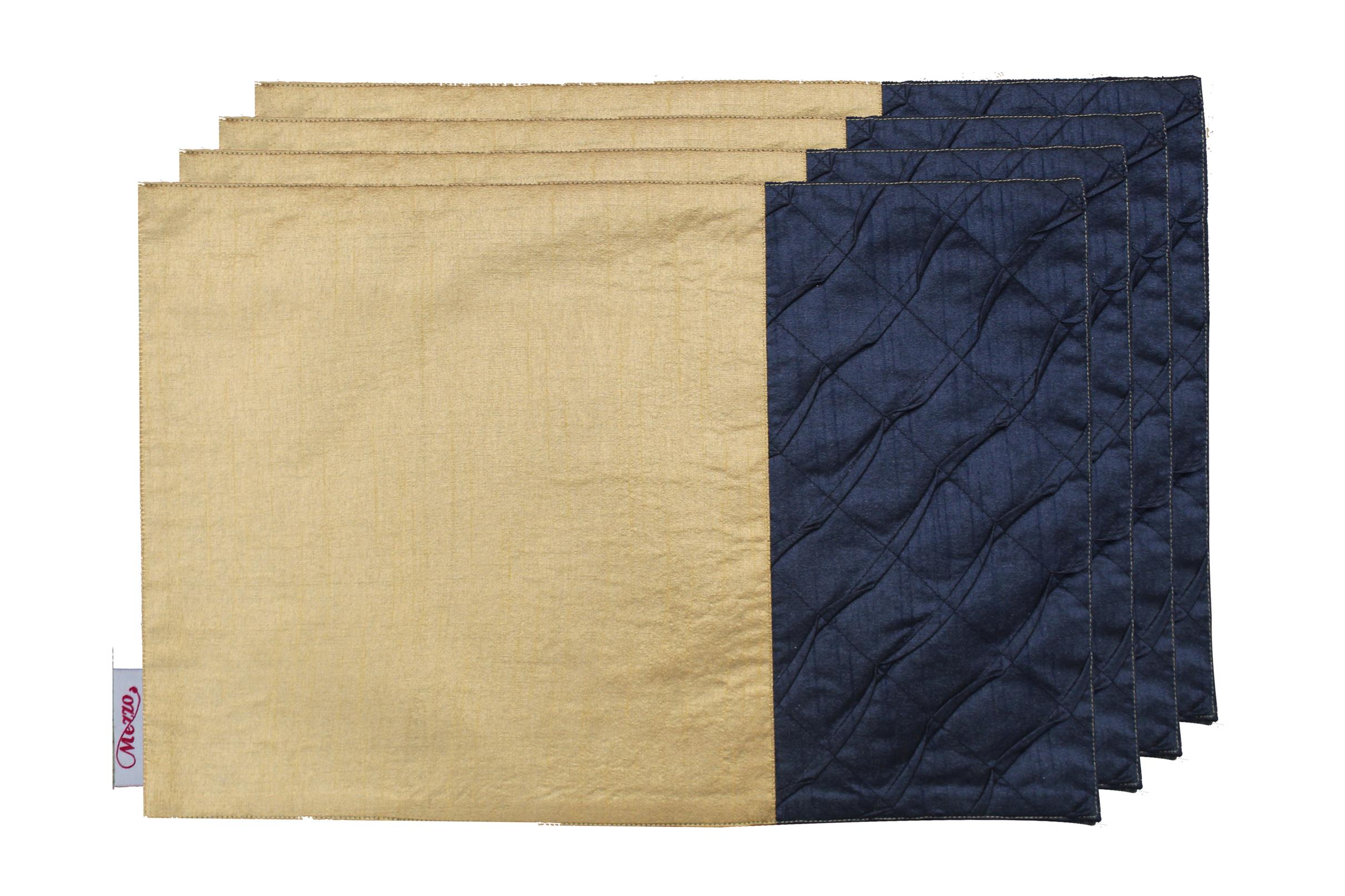 Navy Pleated Placemat