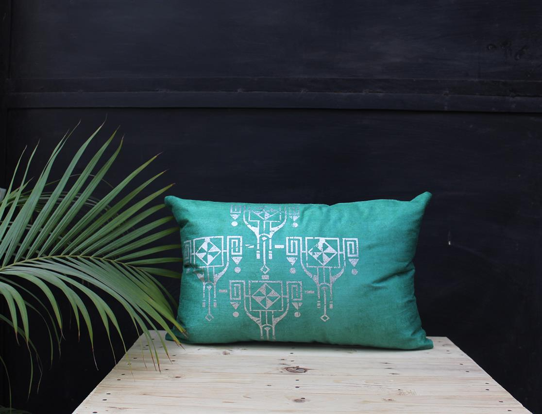Rectangle Southwestern cushion cover