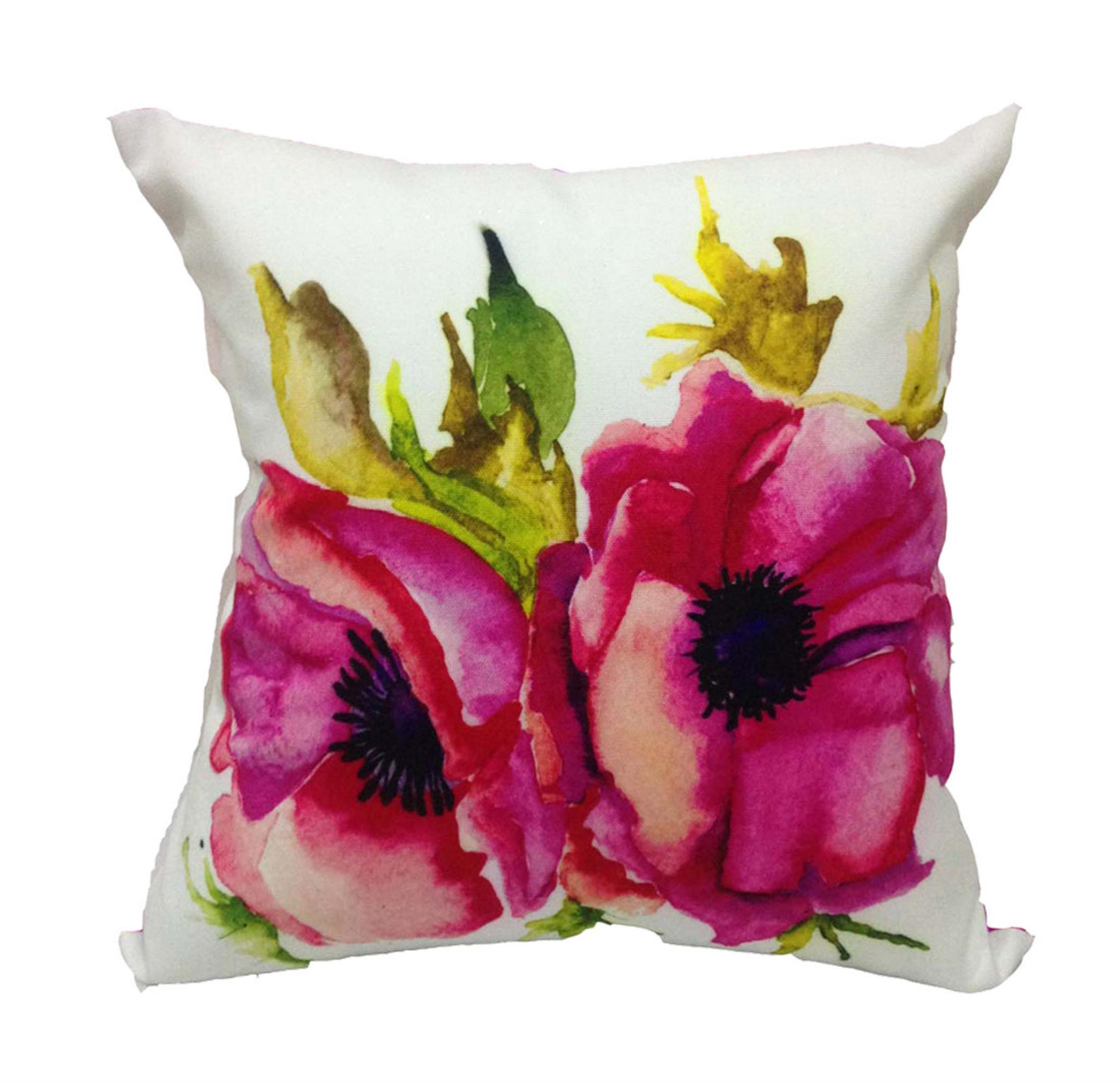 Anemone Floral cushion