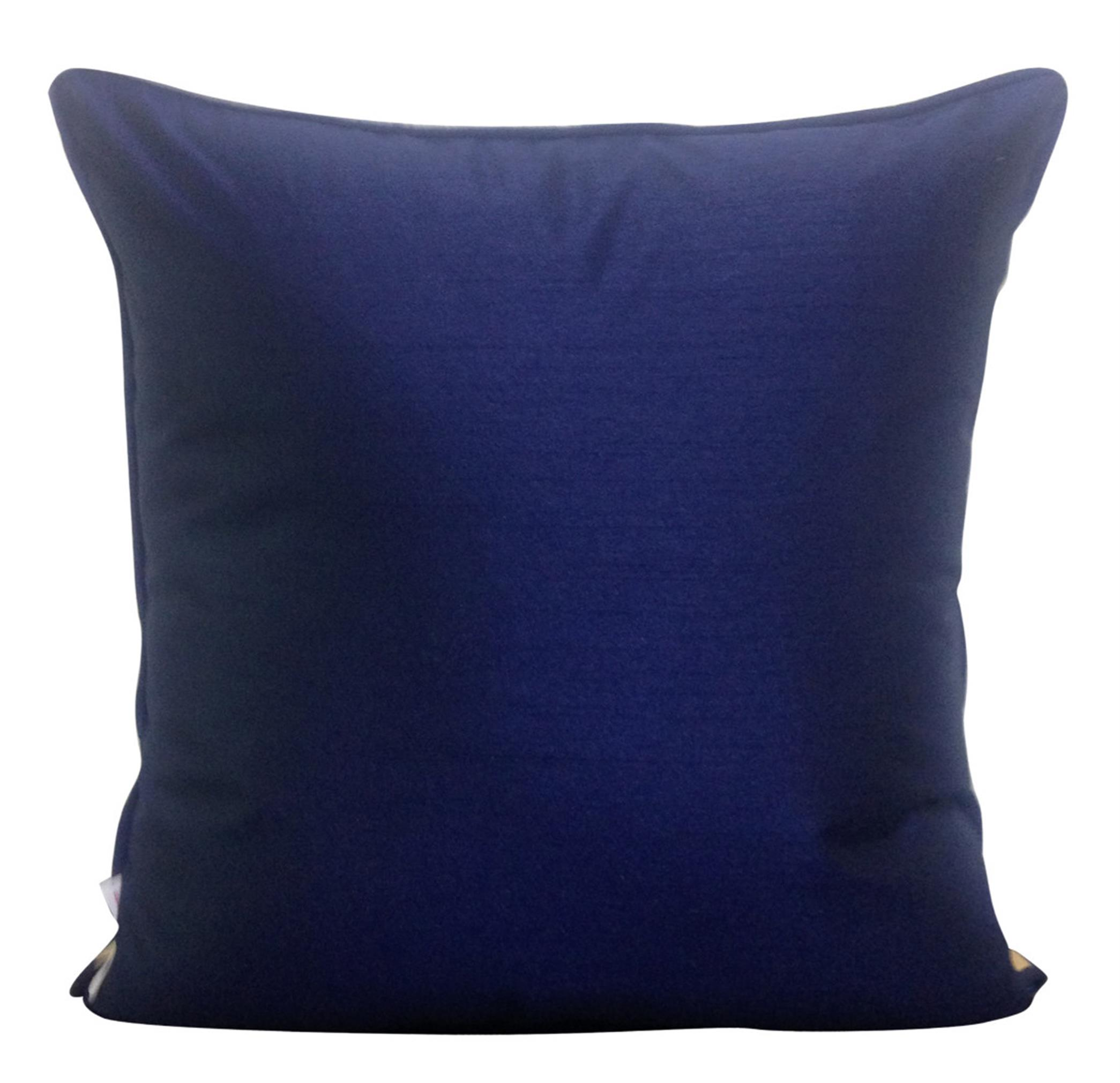 Navy Blue Cushion Cover